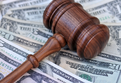 gavel over money istock