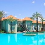 Swimming pool at VIP villas, Antalya, Turkey