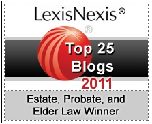 LexisNexis Estate Practice & Elder Law Blogs 2011