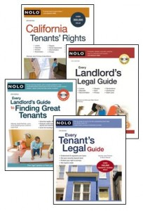 Nolo Landlord & Tenant titles