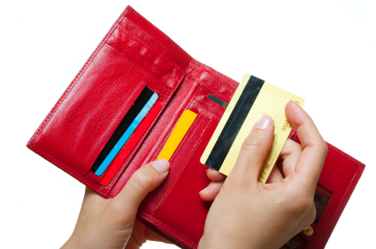 credit card and wallet iStock
